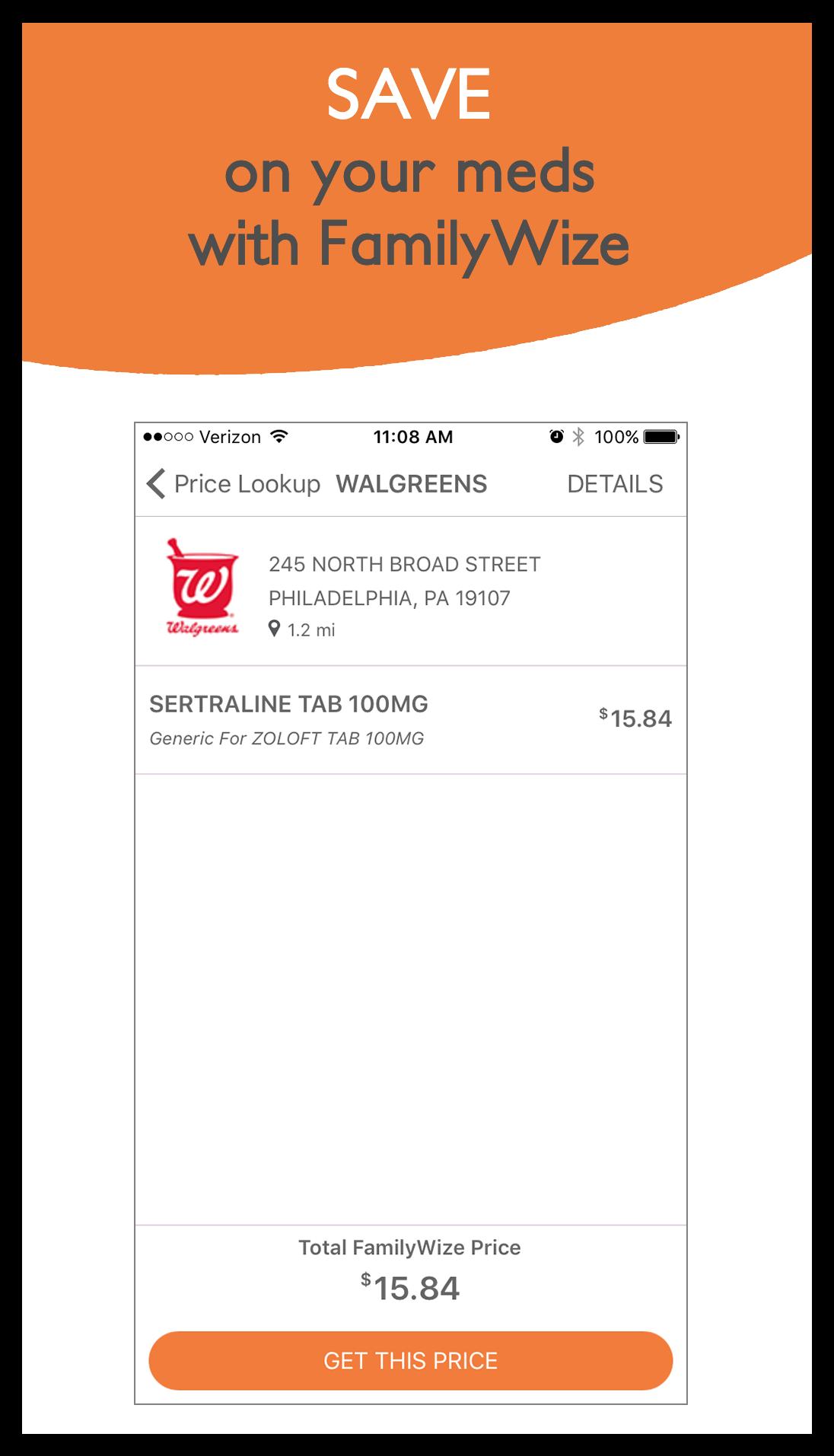 Pharmacy Details Screen