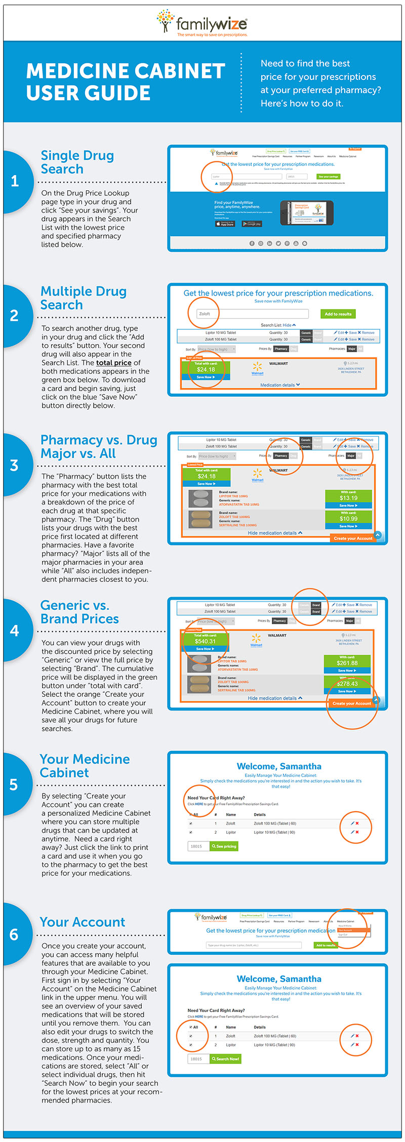 Medicine Cabinet User Guide