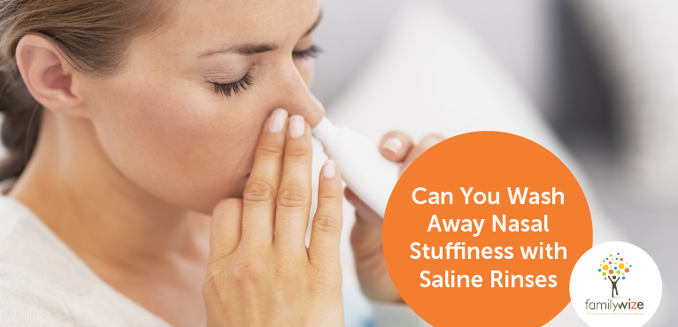 Can You Wash Away Nasal Stuffiness with Saline Rinses