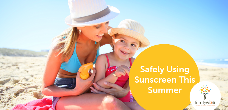 Safely Using Sunscreen This Summer