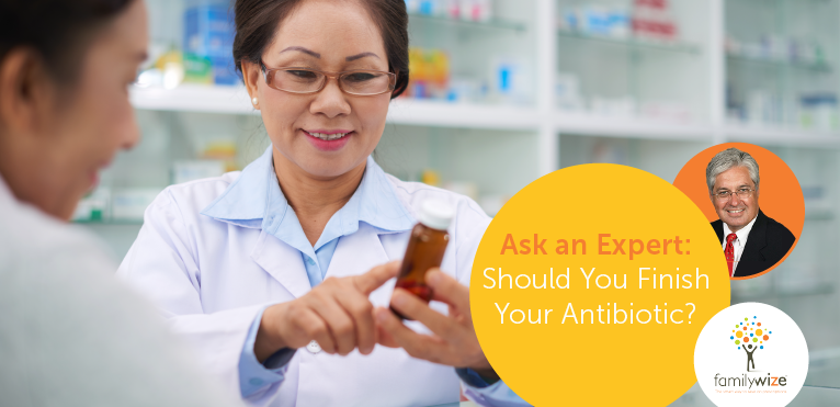 Should You Finish Your Antibiotic?