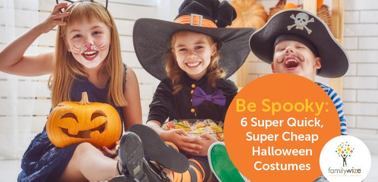 6 Super Quick, Super Cheap Halloween Costumes