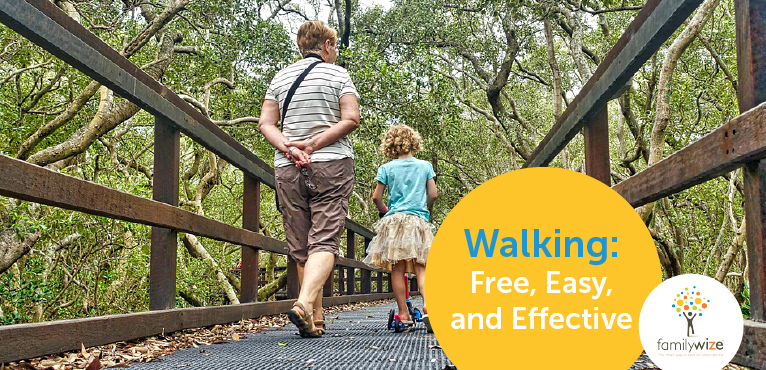 Walking is Free Easy and Effective