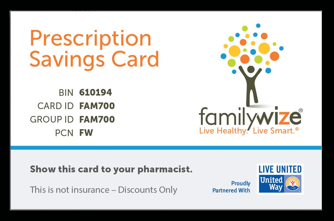 FamilyWize Card